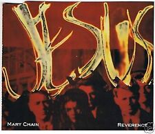 THE JESUS AND MARY CHAIN REVERENCE 4 TRACK CD SINGLE 1992