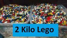 LEGO 1 Kilo + 1 Kg Kiloware Sondersteine Platten Reifen Achsen Basic gemischt