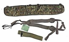 "British Military Molle Belt+Harness+Roll Pin Belt MTP/Multicam - Med - 36"" Pad"