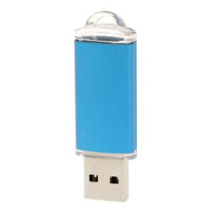 Blue 4GB USB Memory Stick Pen Drive Support USB 2.0/1.0 Universal Blue