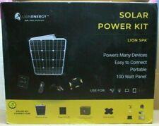 NEW! Lion Energy [DIY] Solar Power Panel Kit - LION SPK