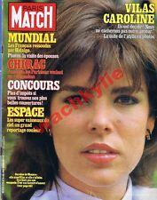 Paris Match n°1729 du 16/07/1982 Caroline de Monaco Vilas Mundial bleus football