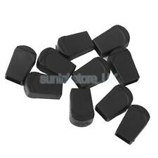 Pack 10 Plastic CORD LOCK ENDS Paracord Zipper Pull Zip Puller Ends Buckles
