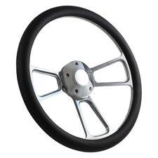 Forever Sharp 1098B-HP5 3-Spoke Muscle Steering Wheel w Half Wrap