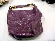 Christopher Kon purple leather bucket bag/purse/handbag/pocketbook/hobo style