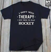 Hockey T shirt Hockey Lover Gift Funny Hockey Game Christmas Gift for Son Tee