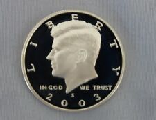 2003-S Kennedy Silver Proof Half Dollar Gem Cameo!!