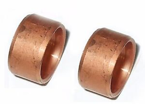 Copper olive for pipework compression couplings - choose size & quantity   10xx