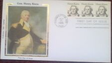 First day of issue, 1985 Great Americans, Gen. Henry Knox, Colorano, # 1851
