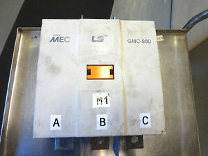LS GMC-800 COIL AC 110/127V DC 100/110V CONTACTOR