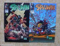 Spawn, nº 25 y 26, 1996, Image, World Comics, Planeta DeAgostini, Greg Capullo