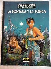 Cimoc Extra Color num.117,Historia de Cyan num.1,Bourgeon,Ed.Norma 2003