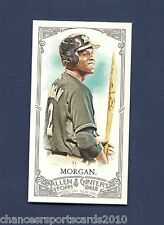 2012 ALLEN & GINTER NYJER MORGAN MINI A & G BACK #86 MILWAUKEE BREWERS