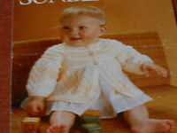Baby's Matinee Coat size 16 and 18 knitting pattern