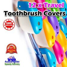12x Portable Suction Antibacterial Toothbrush Travel Cover Case Holder Protector