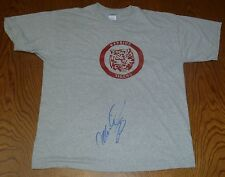 Mario Lopez Signed Bayside Tigers T-Shirt PSA/DNA COA Saved by the Bell Auto'd