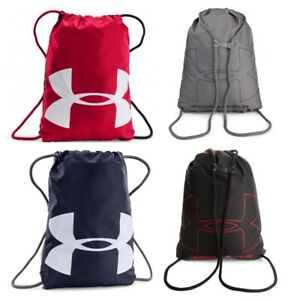 Under Armour Ozsee Gym Sack Drawstring Football Shoe Bag Sports