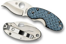 SPYDERCO NUMBERED Cricket Nishijin Glass Fiber Blue Plain Edge C29GFBLP NEW