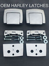 OEM HARLEY TOUR PACK PAK LATCHES SPACERS ELECTRA GLIDE STREET ROAD TOURING KING