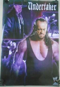 "UNDERTAKER / Original WWE poster #9217 - ""2007"" / Exc. New cond.- 22 x 34 1/2"""