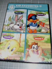 4 Kid Favorites: Baby Looney Tunes Collection (DVD, 2012, 4-Disc Set)