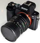 Vintage FDn 35-70mm Macro f3.5-4.5 Cine Lens Sony E NEX Declicked for A7 A7s