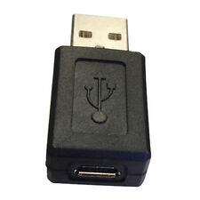 USB A Male to Micro USB Female Adapter (Black) LW