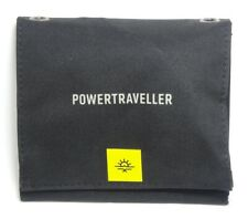 Powertraveller - 7 W Falcon Foldable Solar Panel Charger - Black