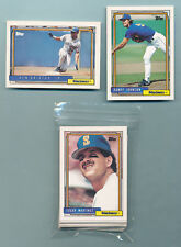 1992 Topps Team Set Seattle Mariners
