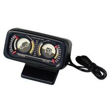 Inclinometro illuminato 12V Per auto e fuoristrada CAMPER JEEP 4X4 FUORI STRADA