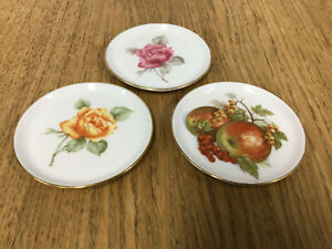 Vintage Furstenberg Butter / Trinket Dishes - 3 pieces, Made in Germany