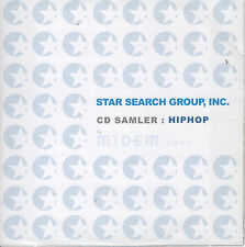 Star Search Group CD Sampler: HipHop (CD) MIDEM 2006/Explicit Lyrics/Rap/18 Cuts