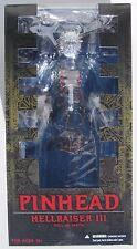 "MEZCO 12"" INCH HELLRAISER III ""HELL ON EARTH"" ""PINHEAD"" VINYL ACTION FIGURE 2016"