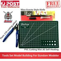 Basic Practical Tools Set Pliers Cutting Mat Model Building For Gundam Modeler