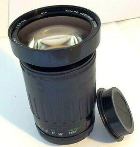 Vivitar 28-210mm f/3.5-5.6 MC Macro Focusing Zoom Camera Lens Fits Pentax K