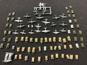1/700  German Russian tanks WW2 3D planes