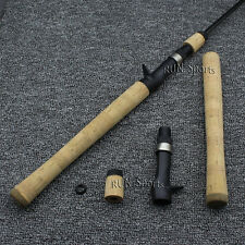 Composite Cork Casting Fishing Rod Handle for Rod Building Grip  with Reel Seat