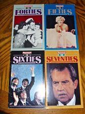 Newsweek 4 booklets Forites Fifties Sixties Seventies Monroe Nixon Beatles WWII