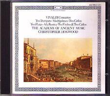 Vivaldi Double Concerto Trumpet violoncello FLUTE Violin violoncello Christopher Hogwood CD