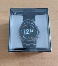 Fossil Gen 6 Smartwatch 44mm Smoke Stainless Steel (FTW4059), NEU+ OVP+ Garantie