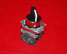22mm Maintained Selector Select switch 3 Position Fits XB4 BD33 2NO STAY PUT