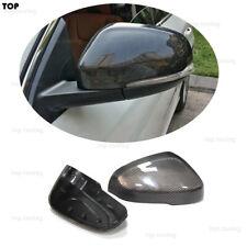 For Volvo S60 S60L S80L 2011-2017 V40 V60 Carbon Fiber Rear Mirror Cover Caps