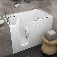 Access Tubs Walk-in Dual System Tub, Bubble Massage Air Injection, Left Drain