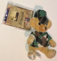 Cheeky Bear Camo Soldier MERRYTHOUGHT Mohair USA Exclusive L/E NEW at Dollsville