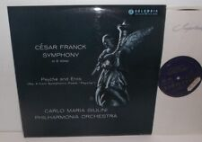 33CX 1589 Franck Symphony In D Minor Psyche And Eros Philharmonia Giulini B/G