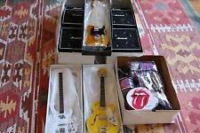 The Rolling Stones - Complete mini instruments set !!!!