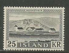 Iceland 1957 Presidential Residence--Attractive Architecture Topical (305) MH