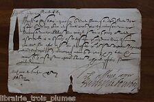 ✒ LS Henry de BOURBON MONTPENSIER Bretagne Château Bretesche duc MERCOEUR 1591