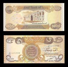 5,000 Iraqi Dinar  5 X 1,000  New Uncirculated