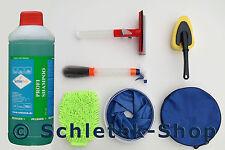 SchleTek Autoshampoo Konzentrat 500 ml = 1:300 + Autopflege Set 5-teilig